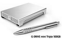G-DRIVE mini Triple 500GB